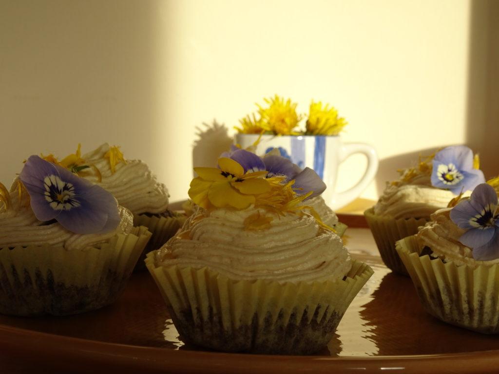 Dandelion Cakes