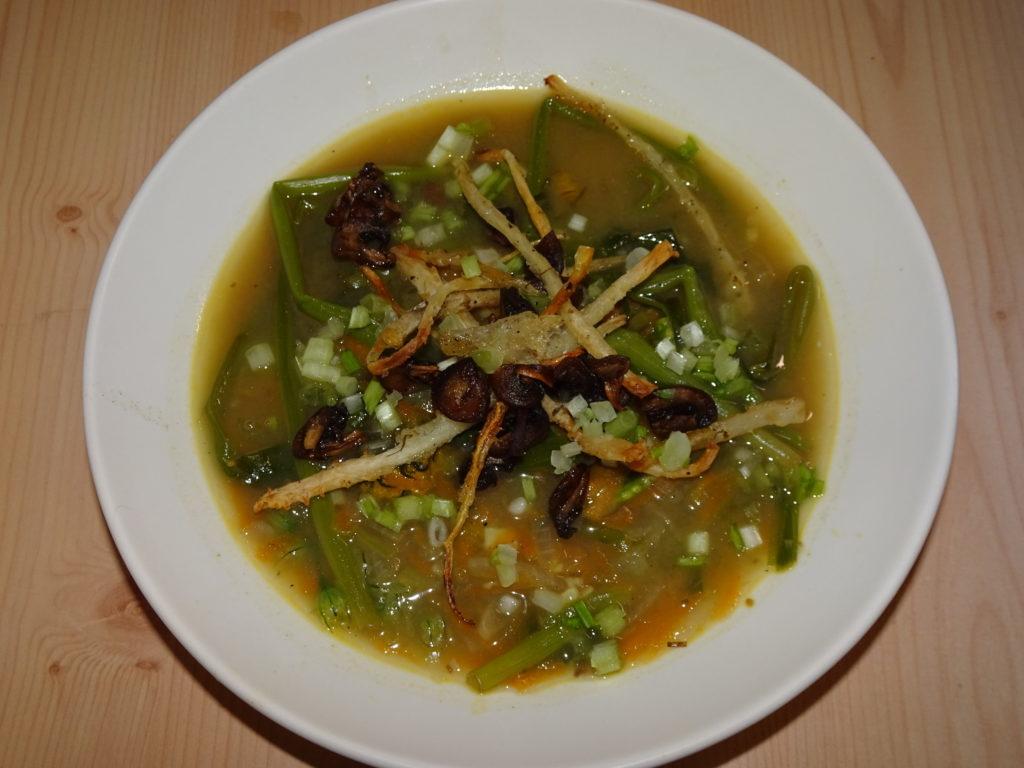Dandelion Miso Soup