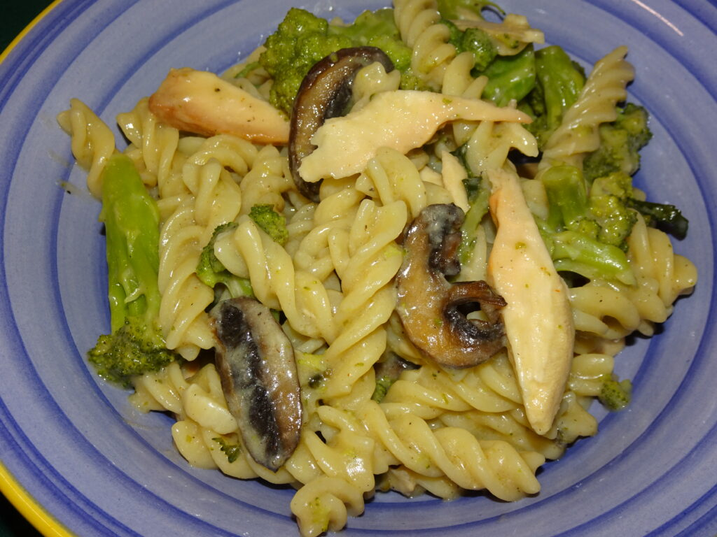 chicken of the woods pasta