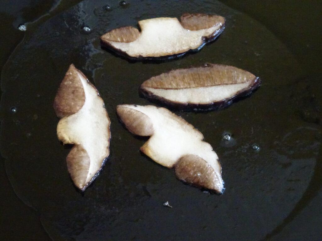 cooking brown birch bolete