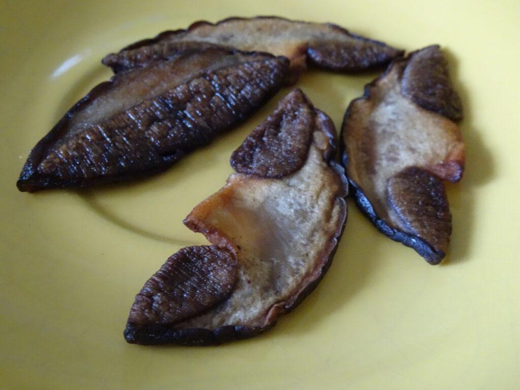cooked brown birch bolete